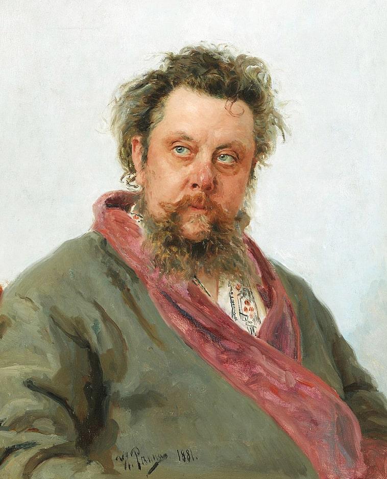 Portret-kompozitora-M.-P.-Musorgskogo.-1881