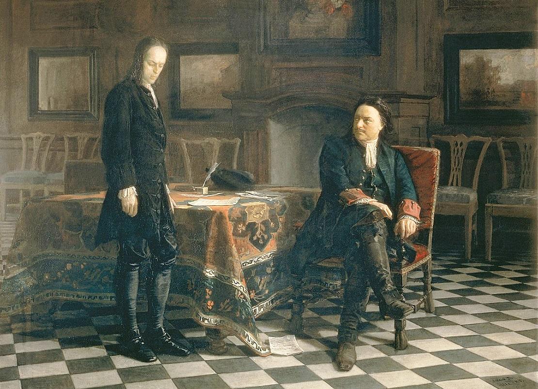 Pyotr-I-doprashivaet-tsarevicha-Alekseya