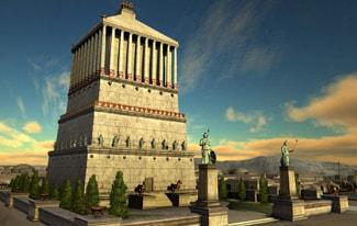 Семь чудес света 5 — Мавзолей в Галикарнасе