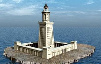 Семь чудес света 6 — Александрийский маяк
