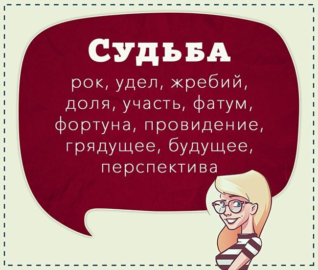 Sinonimyi-razgovornyih-slov-Sudba