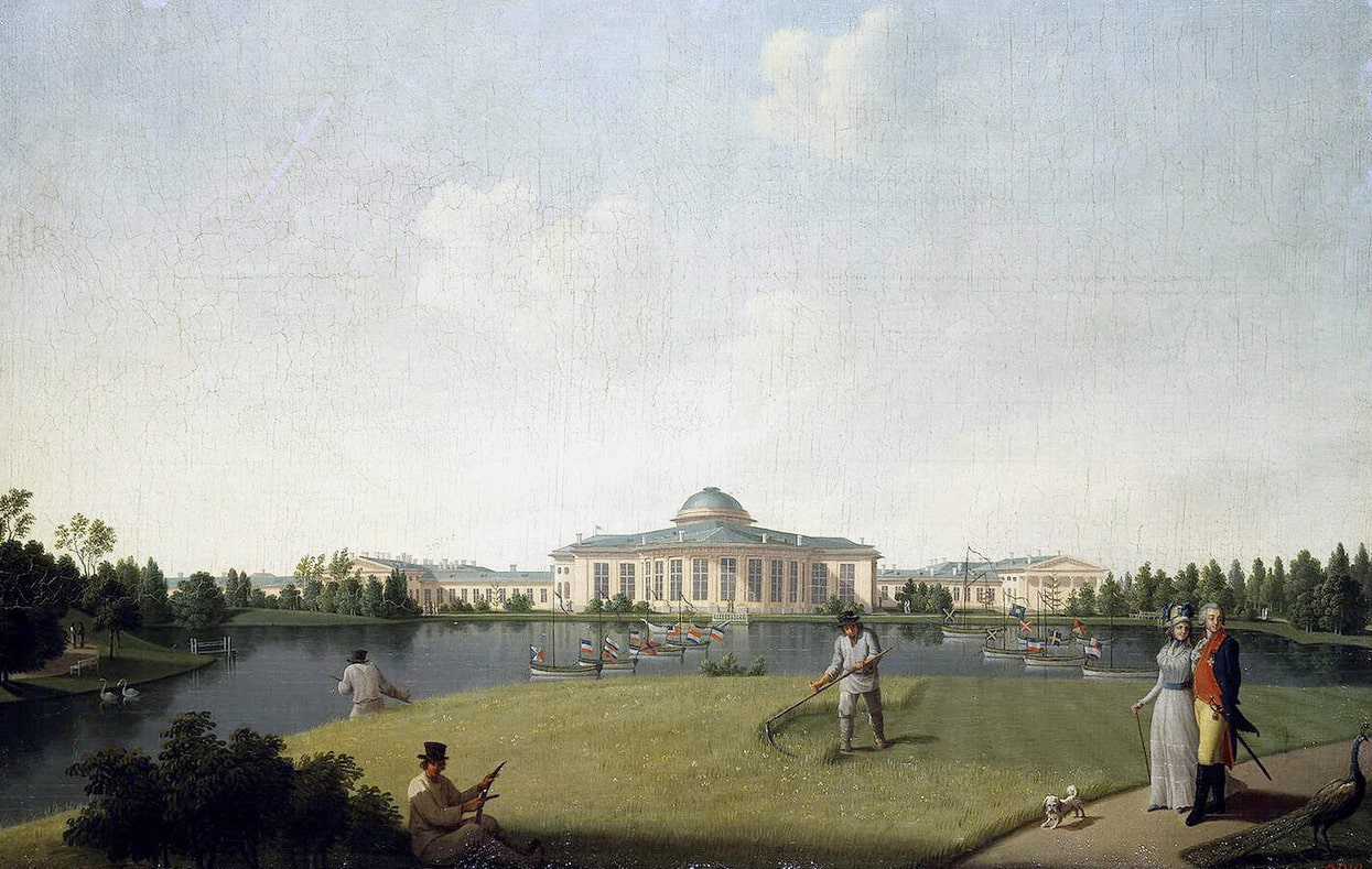 Tavricheskiy-dvorets-so-storonyi-sada
