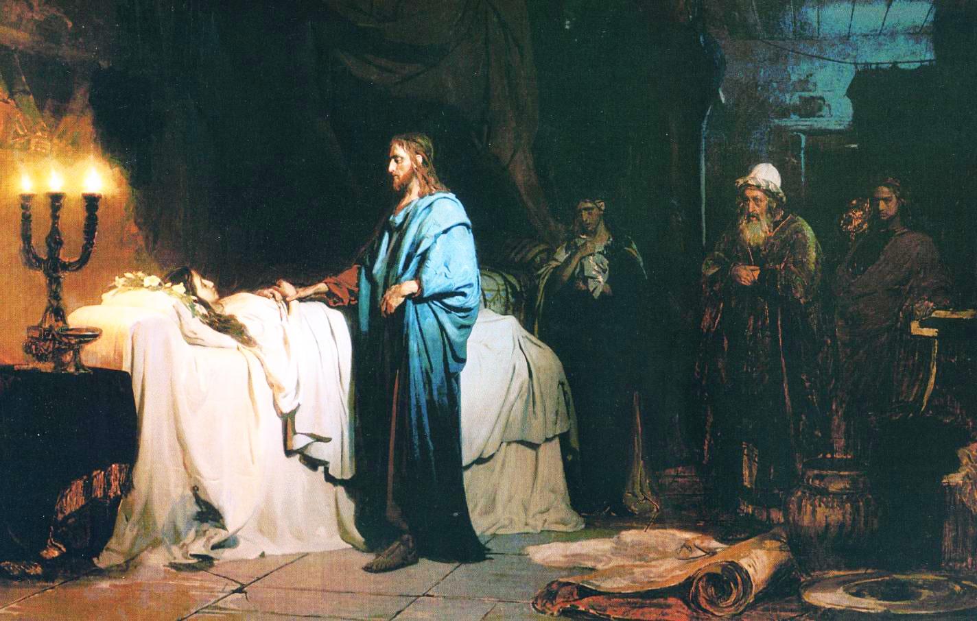 Voskreshenie-docheri-Iaira.-1871